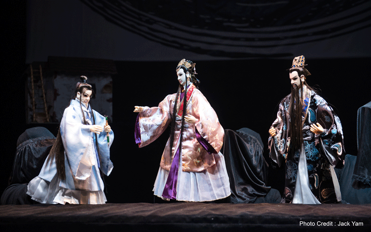 image of Chinese puppets show arts and culture