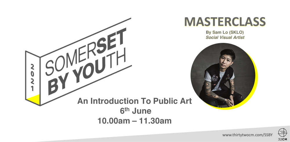 SSBY Masterclass: An Introduction To Public Art with Sam Lo