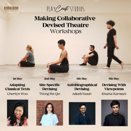 PlayCraft Studios [Making Collaborative Devised Theatre Workshops]